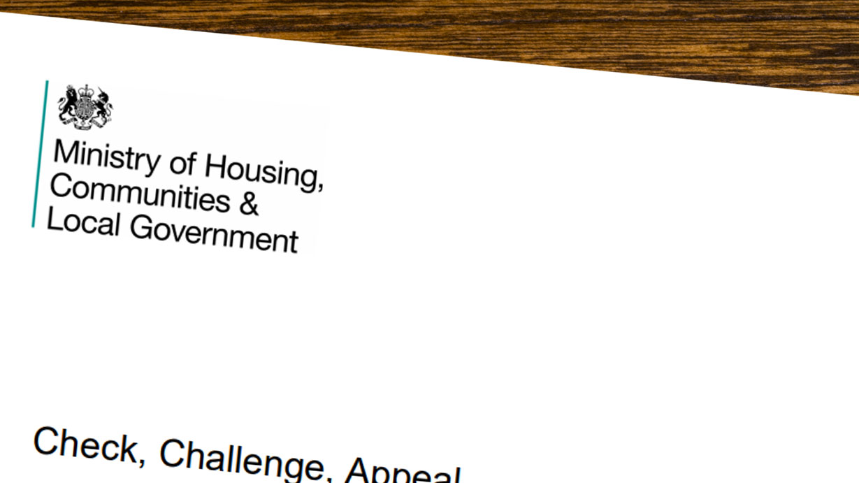 Check, challenge, appeal: interim review of reforms to the business rates appeals system & End of List Arrangements